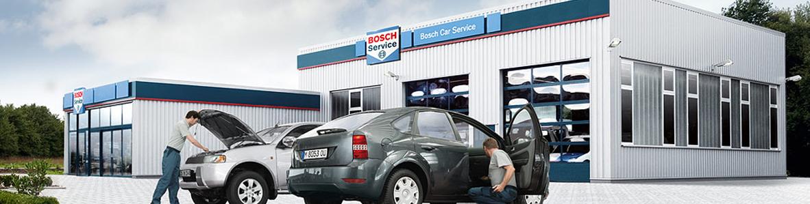 Red de talleres Bosch